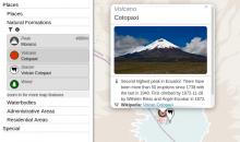 Screenshot of OpenStreetBrowser, showing