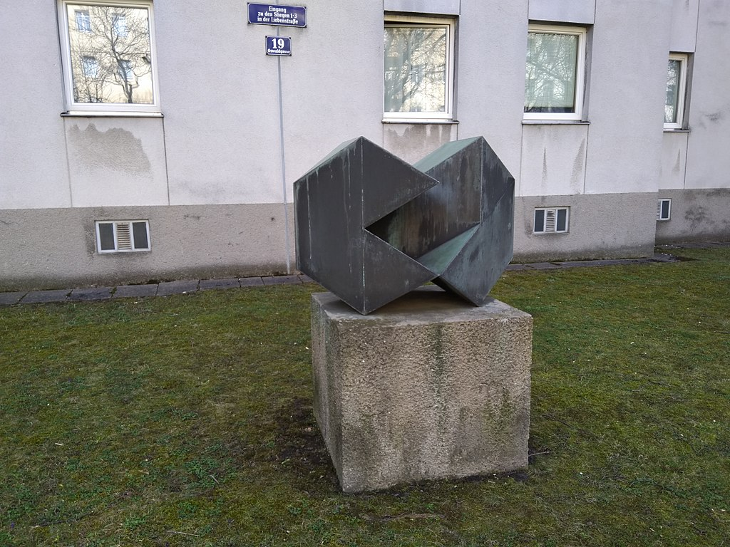 Image showing some artwork in Vienna.