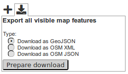 Feature update (v4 2): export visible map features,     | blog